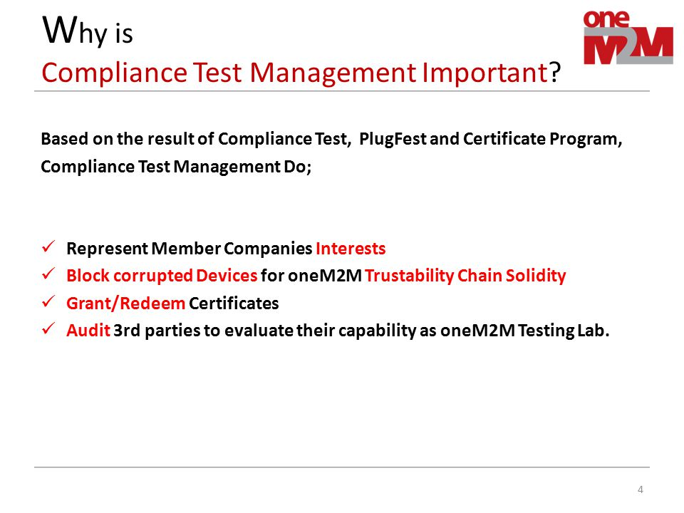 Why is Compliance Test Management Important