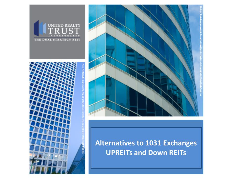 Alternatives to 1031 Exchanges
