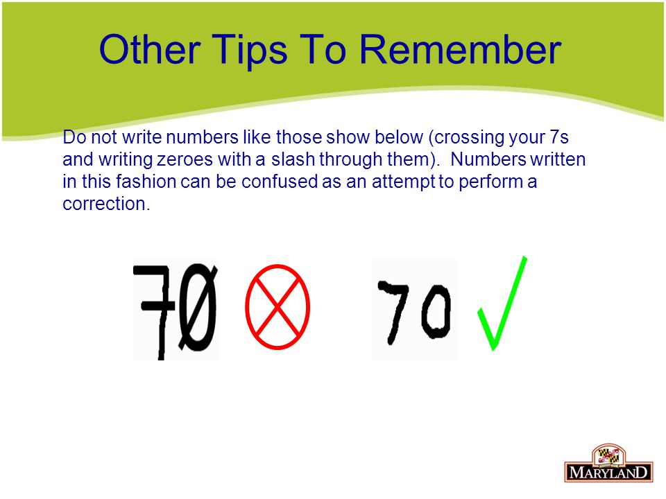 Other Tips To Remember