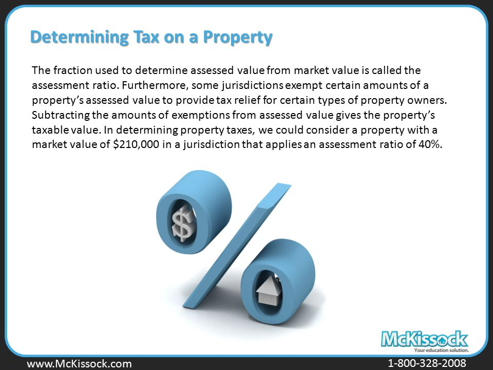 Determining Tax on a Property