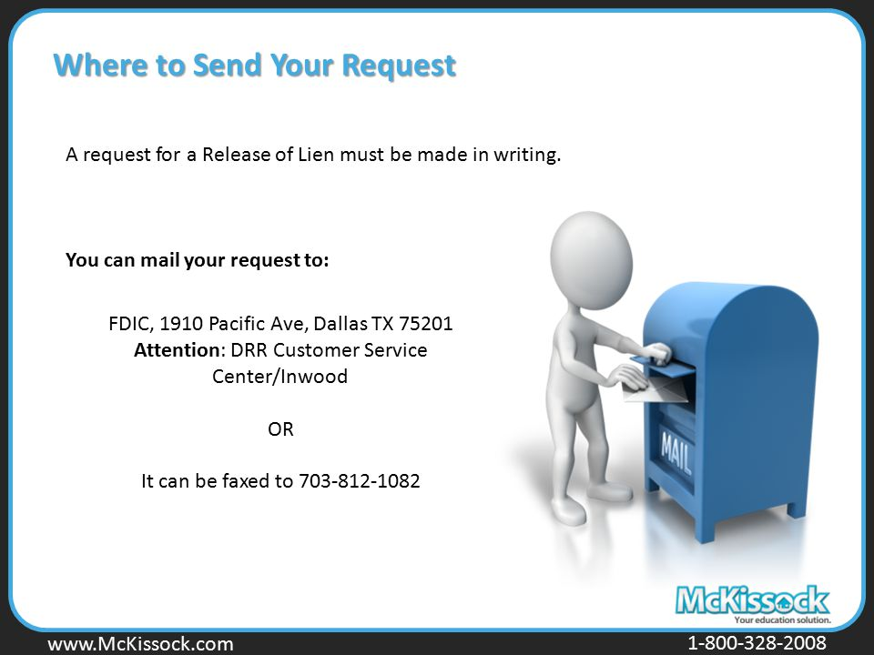 Where to Send Your Request