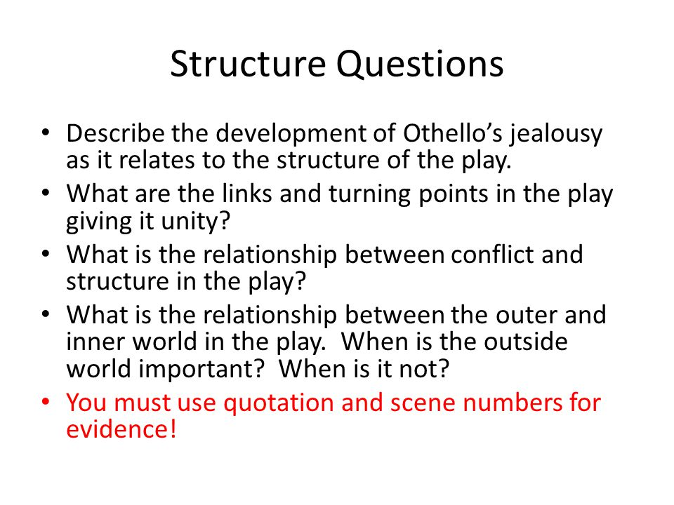 motivation of othello killing desdemona Then he madly rushes into the disgusting action of killing  by far the most important motivation in the drama is othello  that between othello and desdemona,.