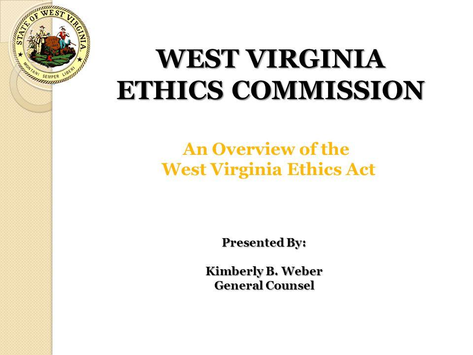 WEST VIRGINIA ETHICS COMMISSION