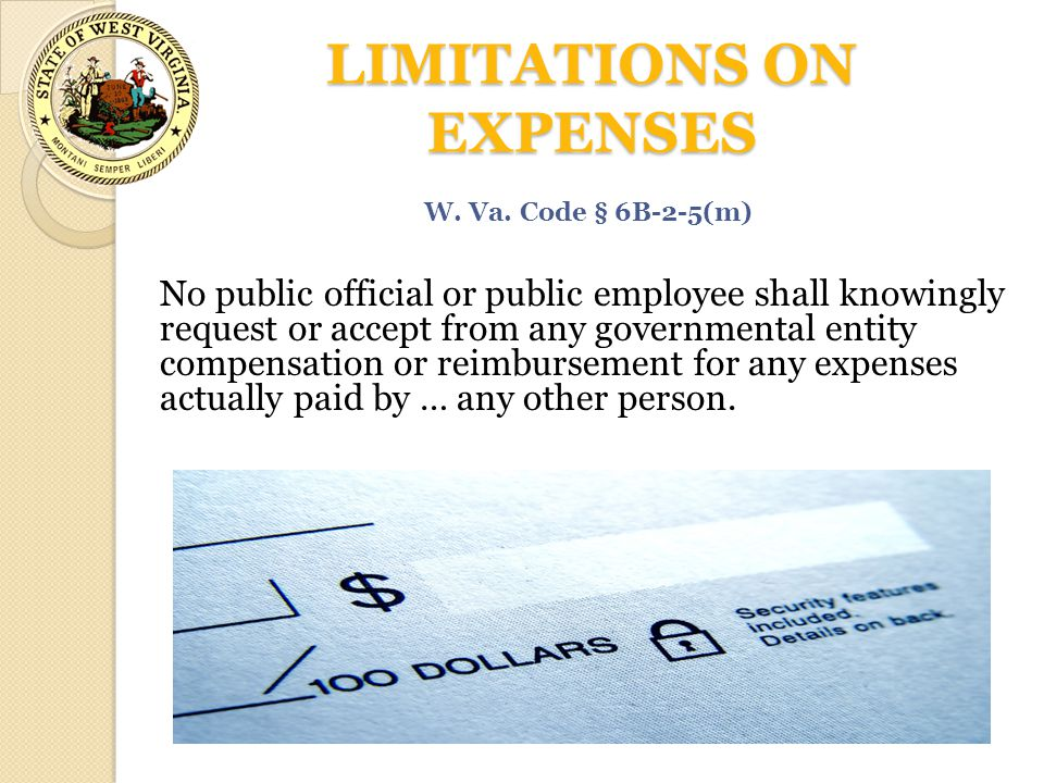 LIMITATIONS ON EXPENSES