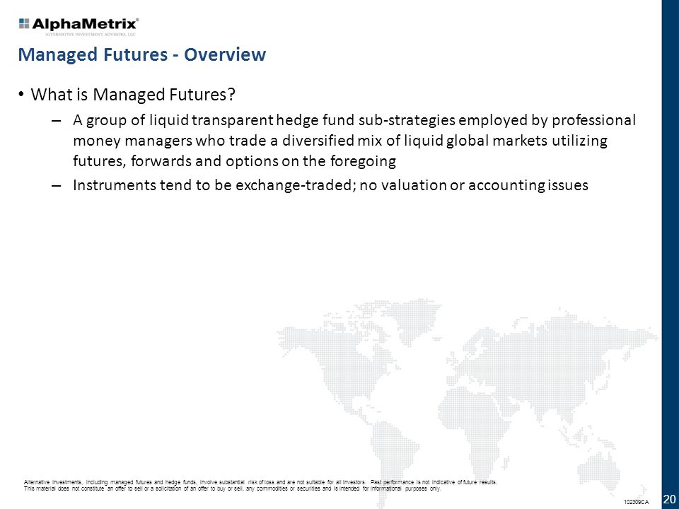 Managed Futures - Overview