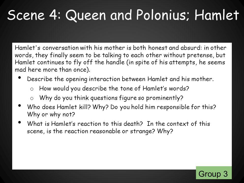 Scene 4: Queen and Polonius; Hamlet