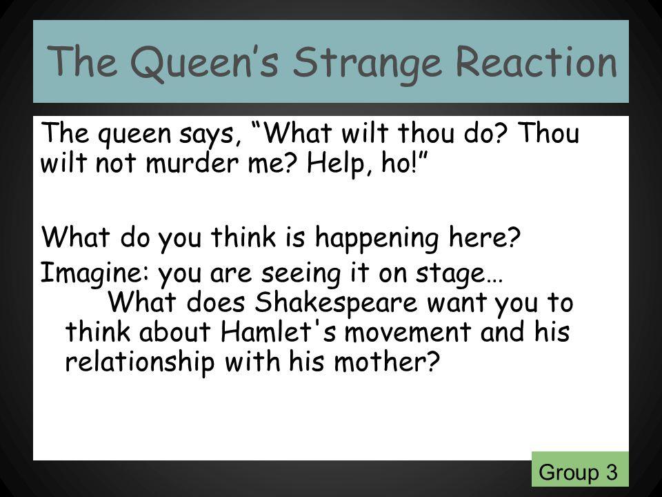 The Queen's Strange Reaction