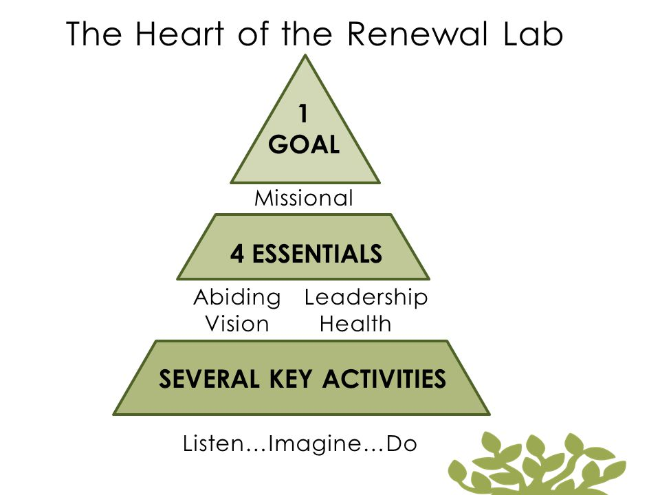 The Heart of the Renewal Lab