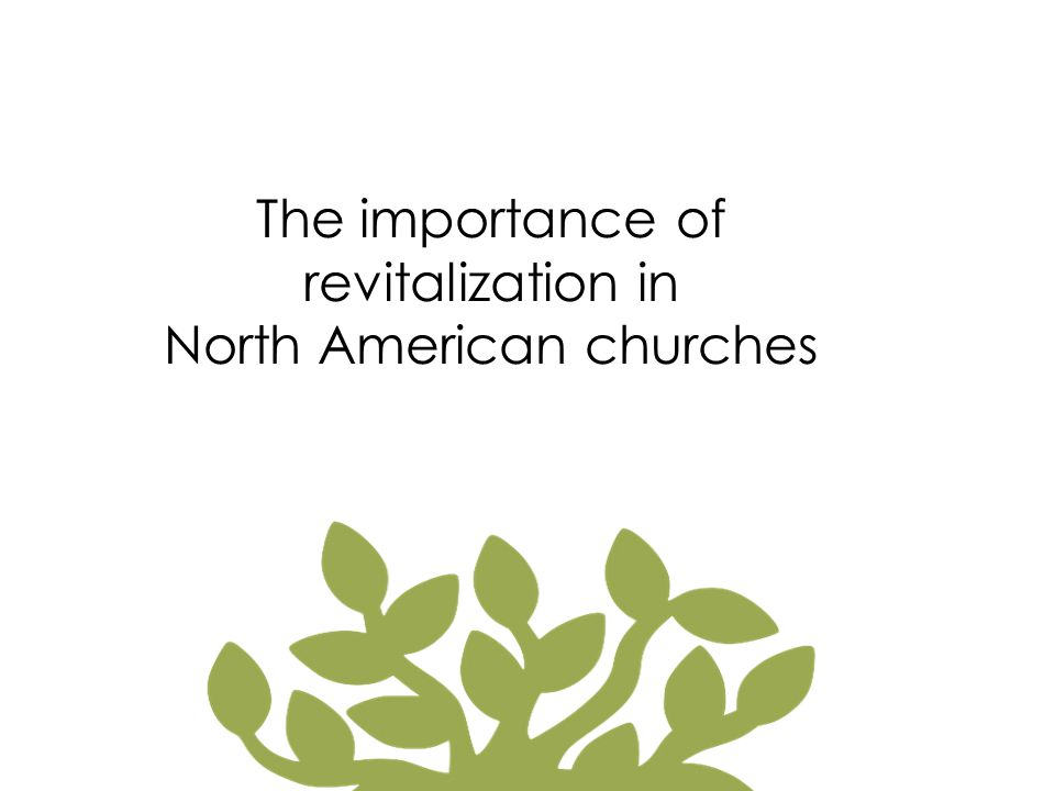 North American churches