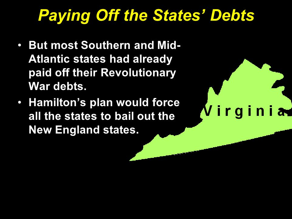Paying Off the States' Debts