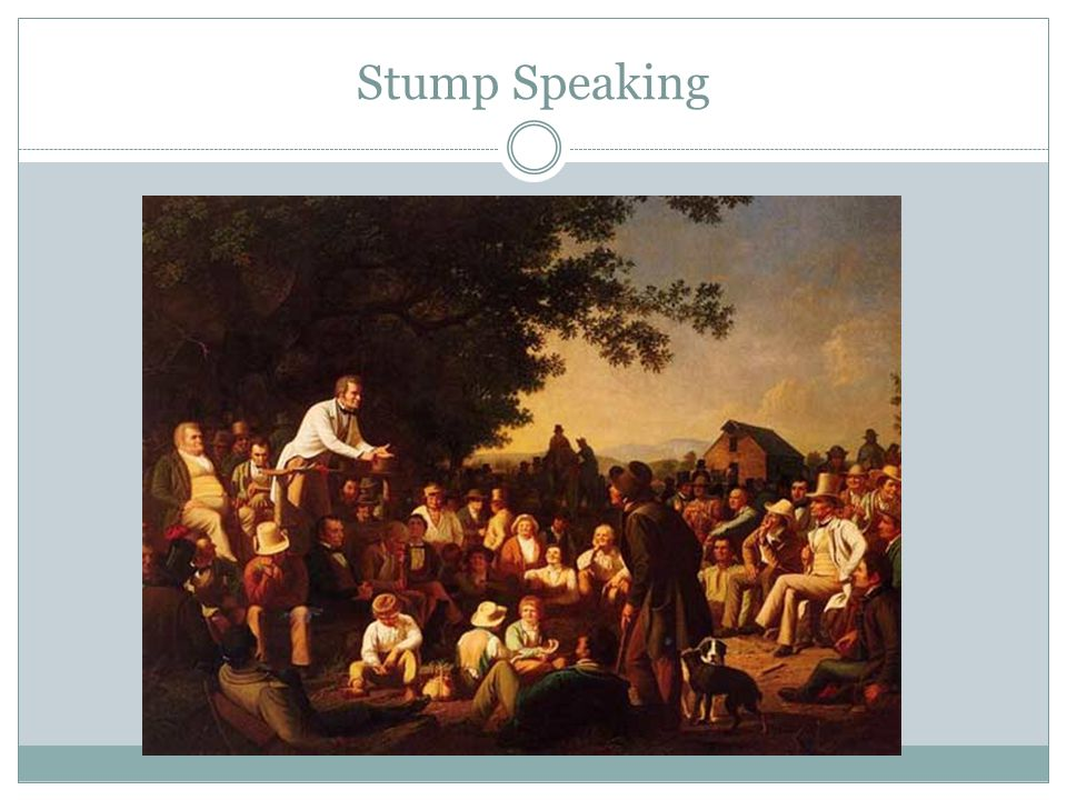 Stump Speaking