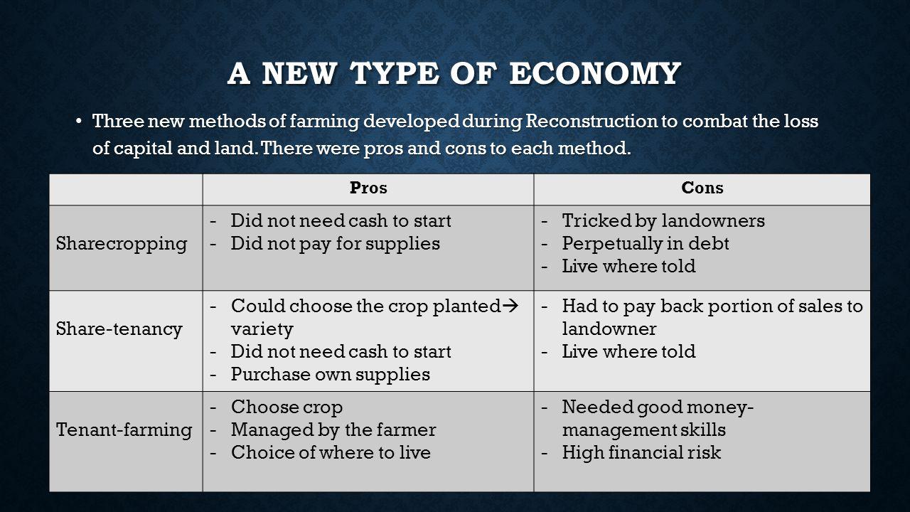 A new type of Economy