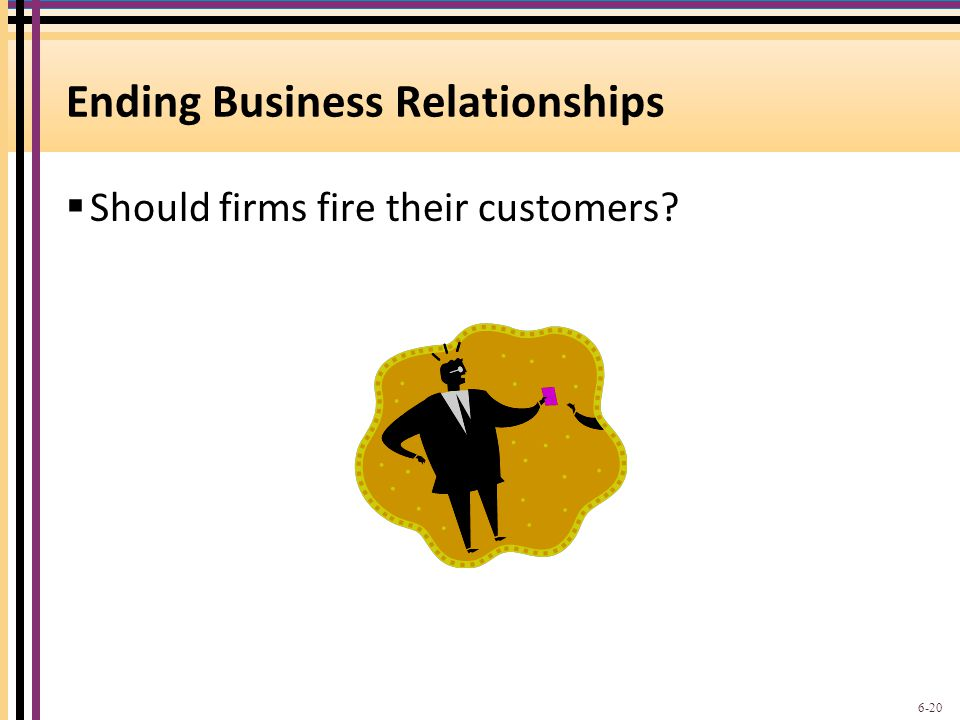 Ending Business Relationships