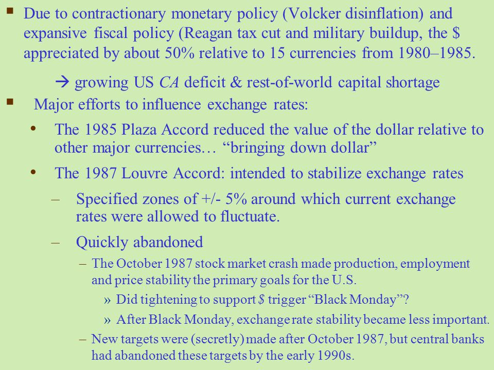  growing US CA deficit & rest-of-world capital shortage