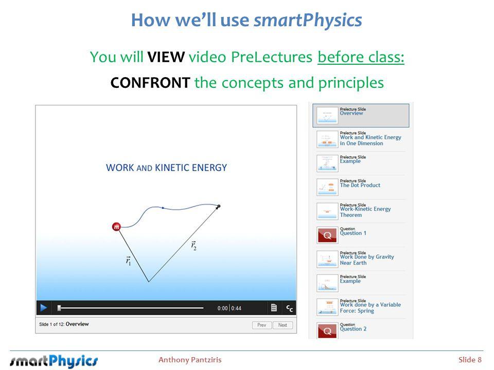 How we'll use smartPhysics
