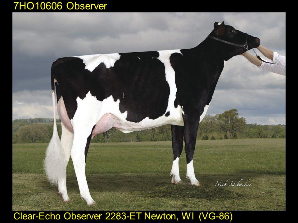 7HO10606 Observer Clear-Echo Observer 2283-ET Newton, WI (VG-86)
