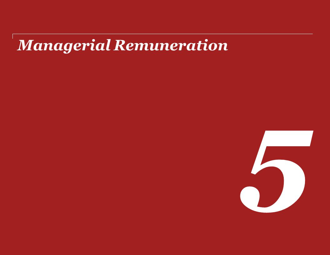 Managerial Remuneration