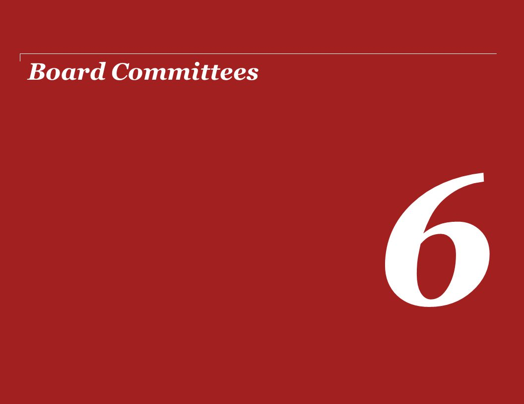Board Committees 6
