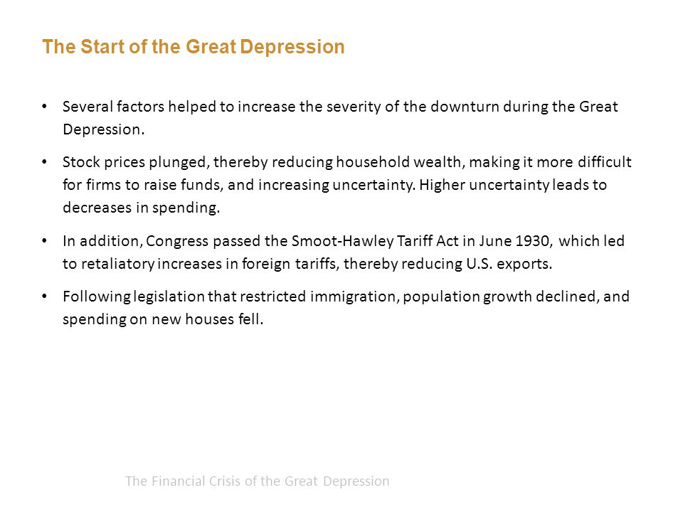 The Financial Crisis of the Great Depression