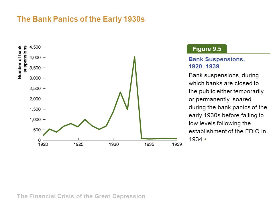 The Bank Panics of the Early 1930s