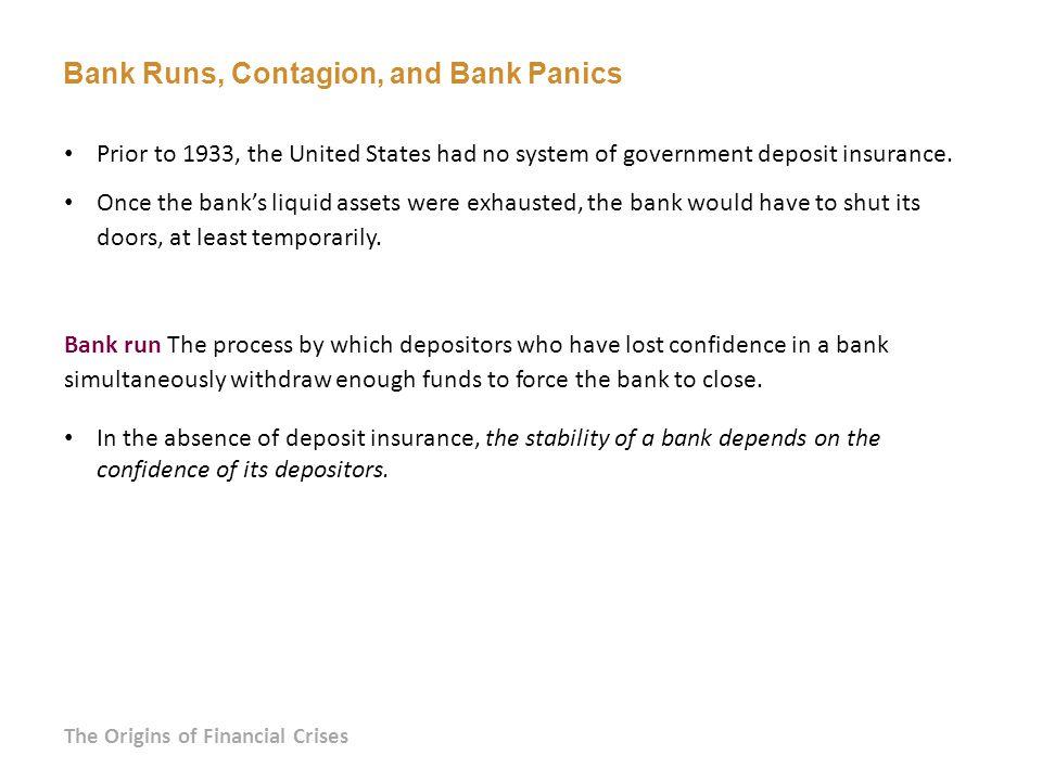 Bank Runs, Contagion, and Bank Panics