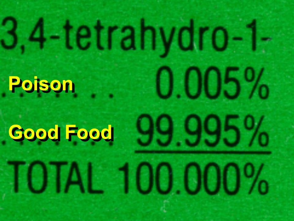 Rat poison Poison Good Food