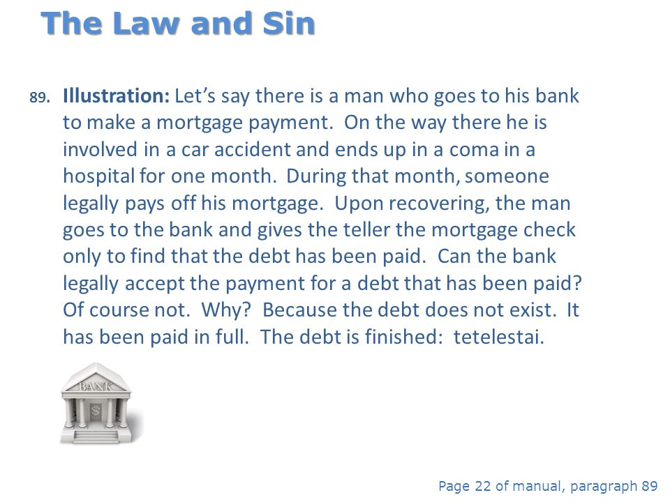 The Law and Sin