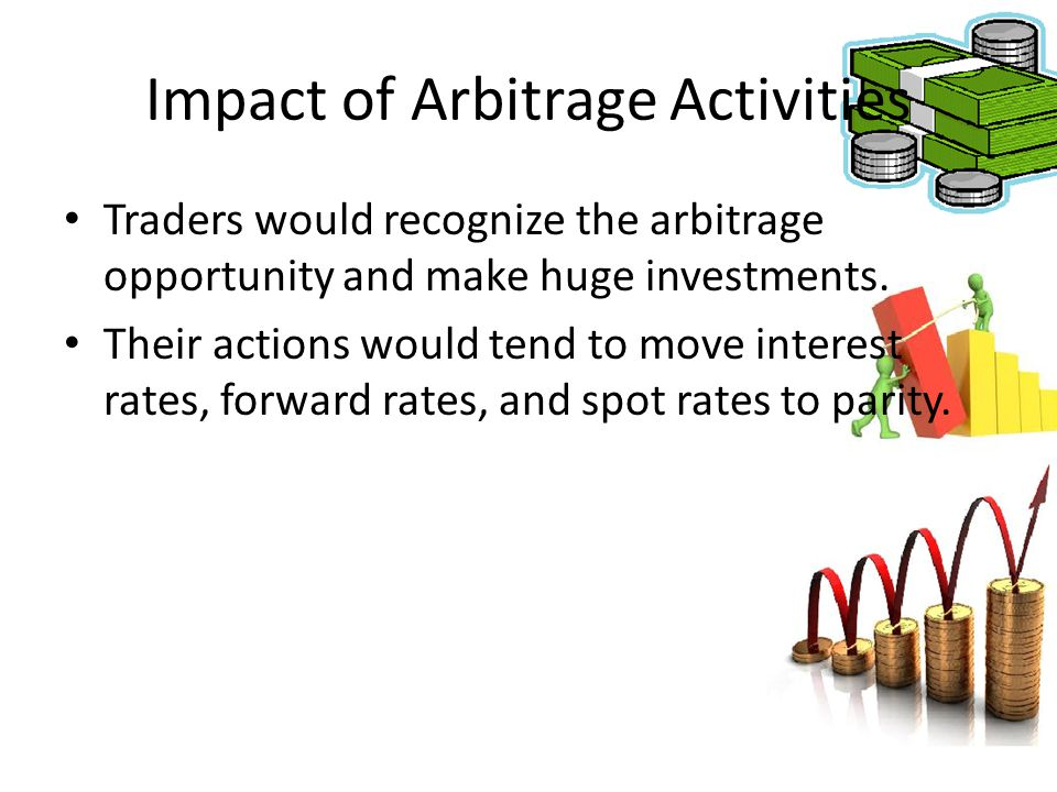 Impact of Arbitrage Activities