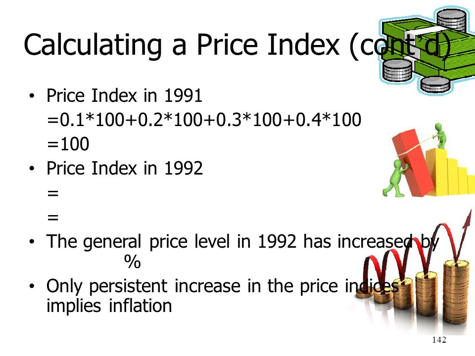 Calculating a Price Index (cont'd)