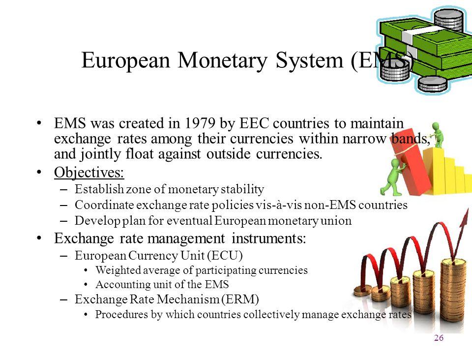 European Monetary System (EMS)