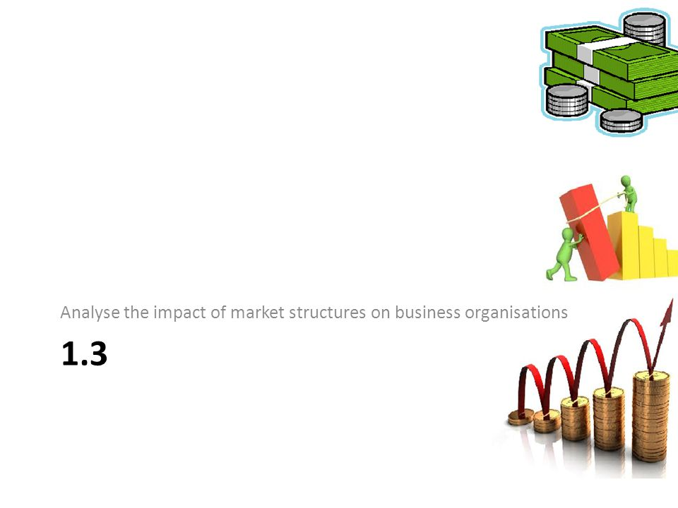 Analyse the impact of market structures on business organisations