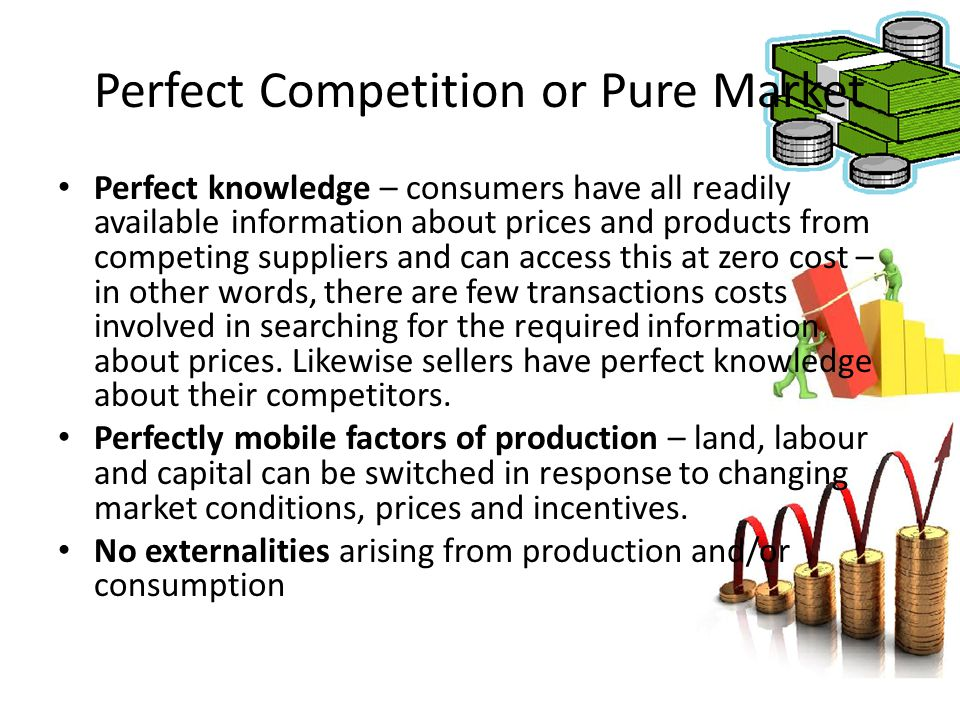 Perfect Competition or Pure Market