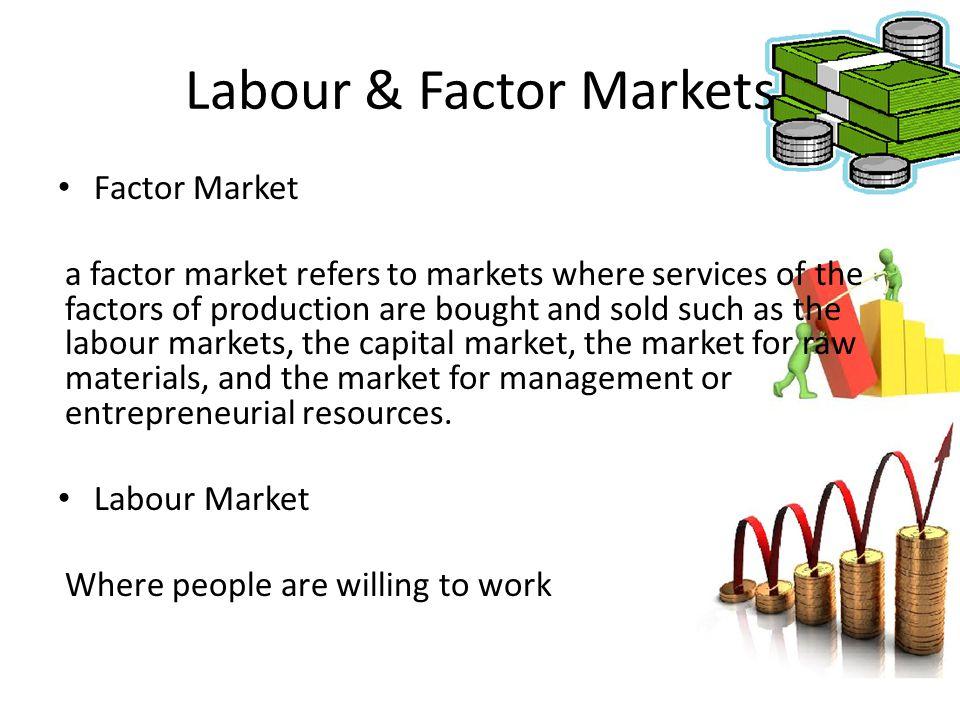 Labour & Factor Markets