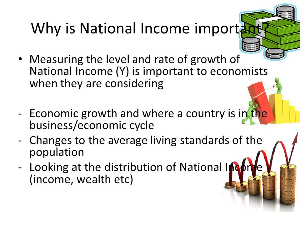 Why is National Income important