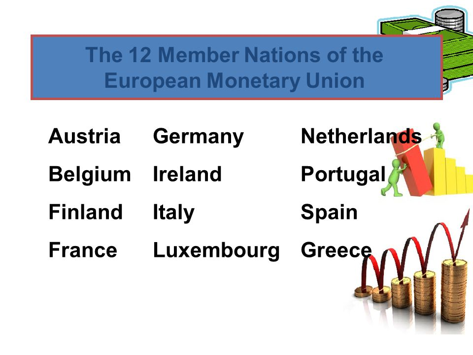 The 12 Member Nations of the European Monetary Union