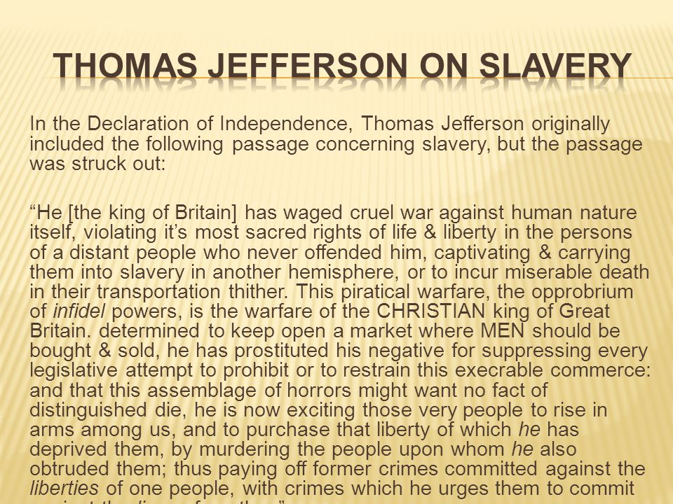 Slavery As An Issue In United States History 1619 The