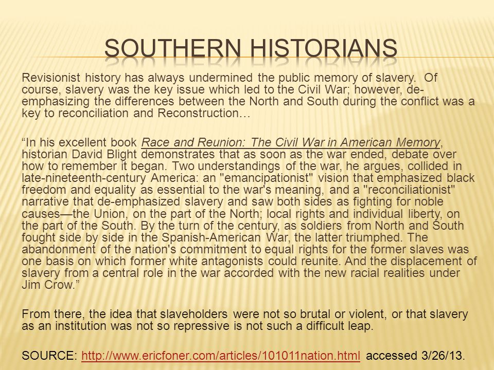 an introduction to the issue of slavery in the south in the united states