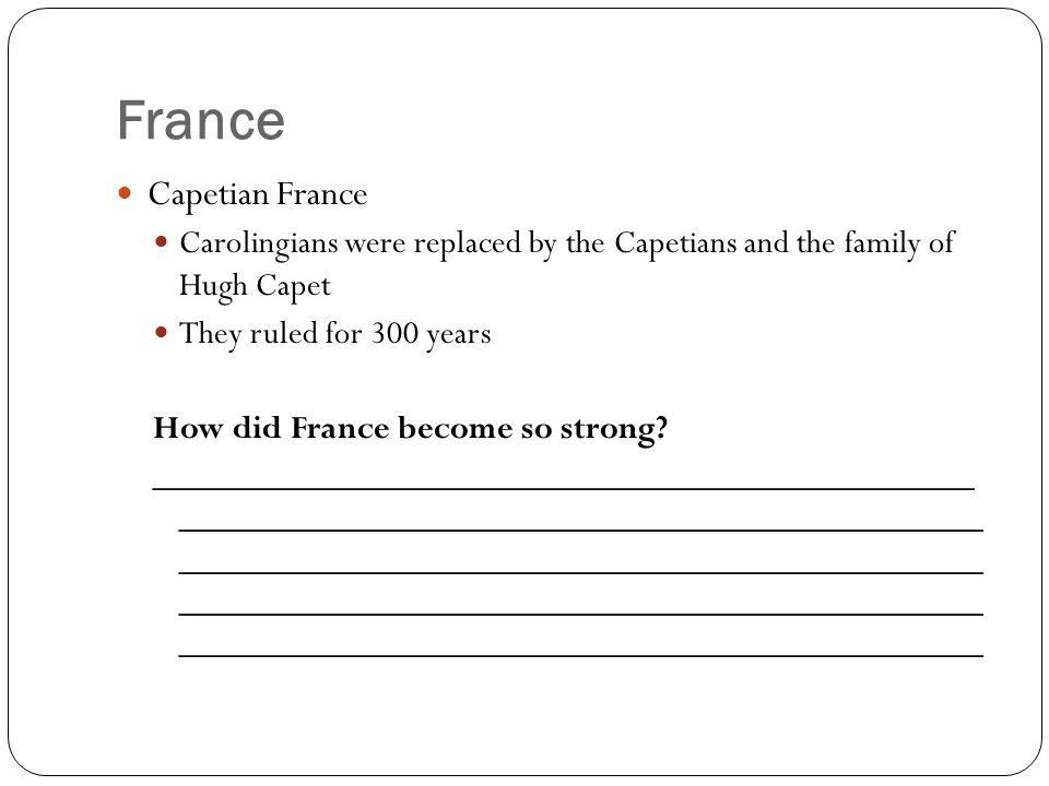 France Capetian France