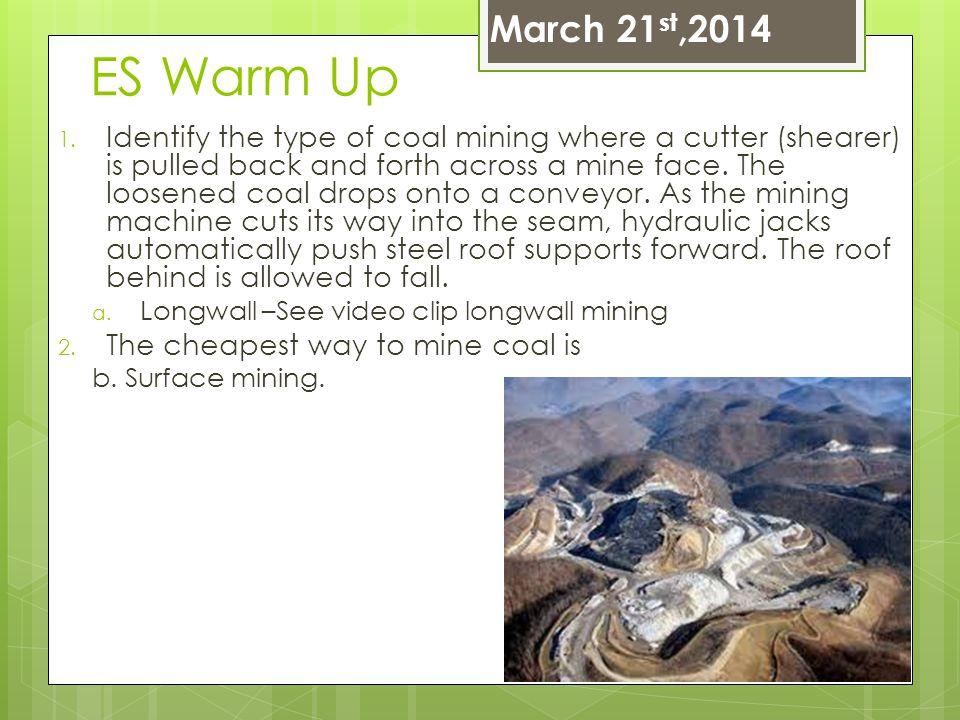 March 21st,2014 ES Warm Up.