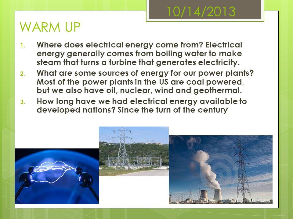 10/14/2013 WARM UP