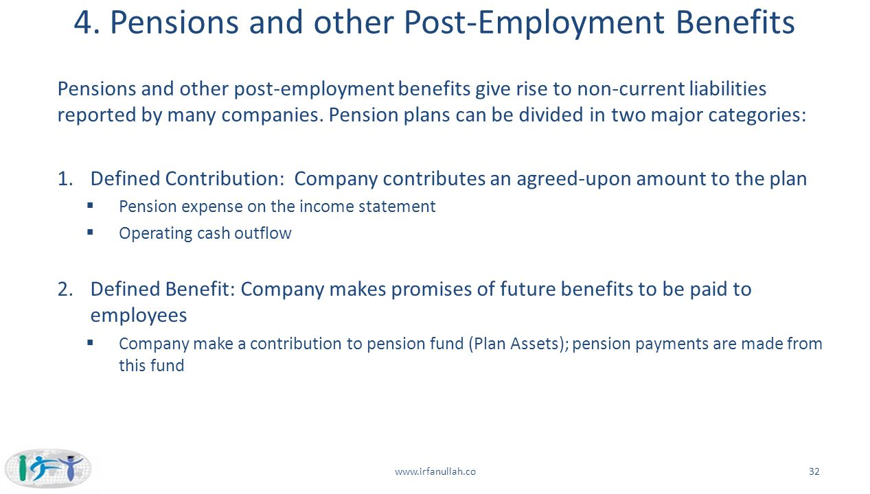 4. Pensions and other Post-Employment Benefits