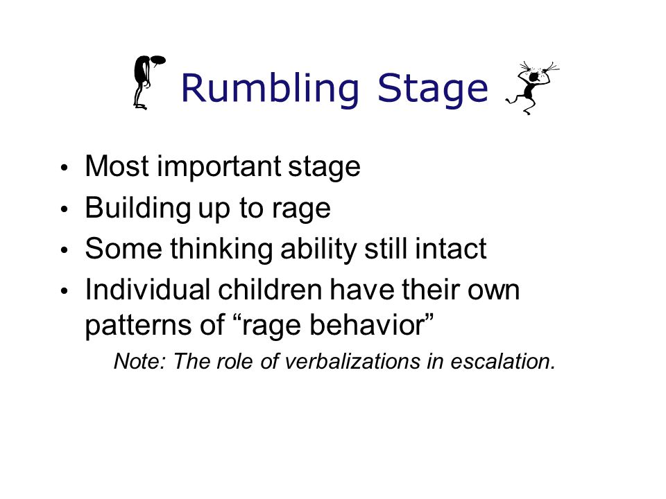 Note: The role of verbalizations in escalation.