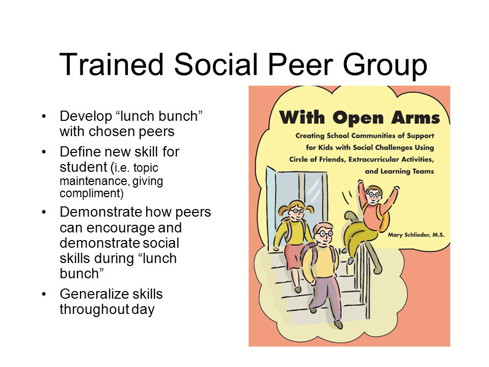Trained Social Peer Group