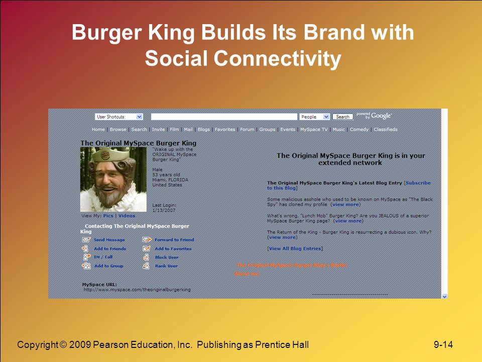 Burger King Builds Its Brand with Social Connectivity