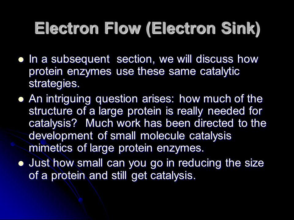 Electron Flow (Electron Sink)