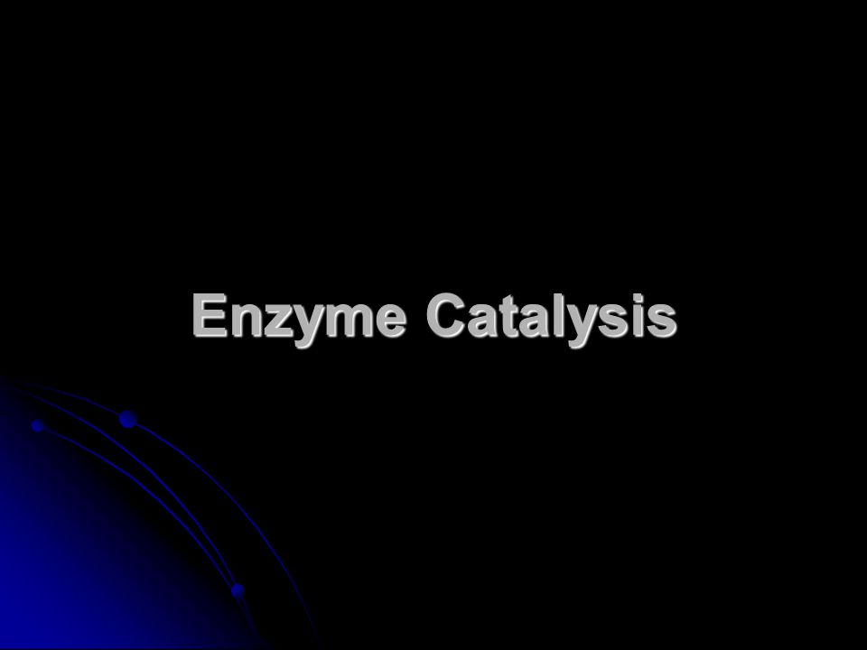 enzyme catalysis Ap biology lab 2 - enzyme catalysis paul andersen starts with a brief description of enzymes and substrates he then explains how you can measure the rate of an enzyme mediated reaction.