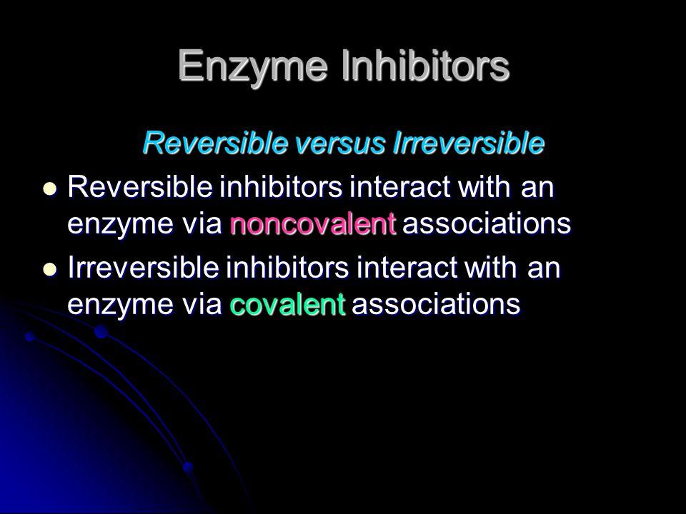 Reversible versus Irreversible