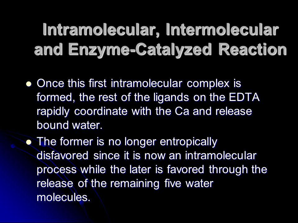 Intramolecular, Intermolecular and Enzyme-Catalyzed Reaction