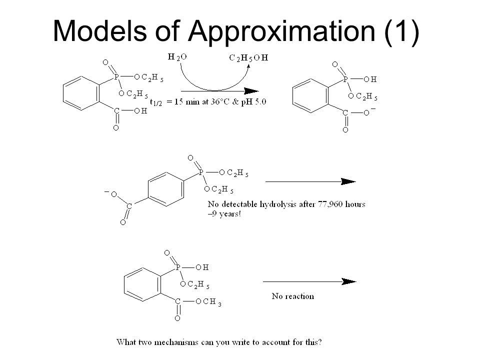 Models of Approximation (1)