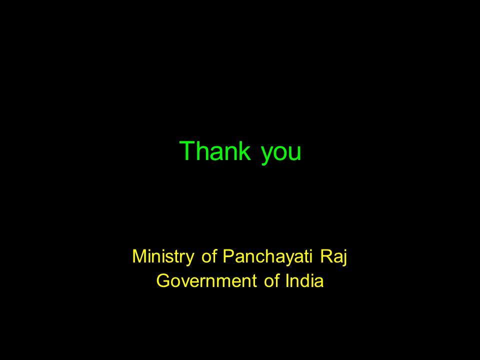 Ministry of Panchayati Raj Government of India